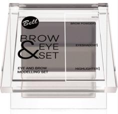 Bell - Набор для моделирования бровей и глаз Brow And Eye Modelling Set, (3 тона)