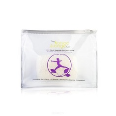 The Konjac Sponge Co - Спонж для спортзала Sports Lilac (в водонепроницаемой косметичке)