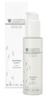Janssen - Интенсивно увлажняющая эмульсия для упругости и эластичности кожи Organics