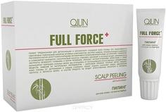 OLLIN Professional - Пилинг для кожи головы с экстрактом бамбука Hair & Scalp Purfying Scalp Peeling, 10х15 мл