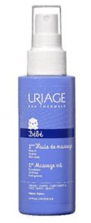 Uriage - Первое массажное масло 1ere Huile De Massage Bebe, 100 мл