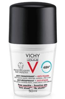 Vichy - Дезодорант-антиперспирант 48ч против пятен Homme, 50 мл