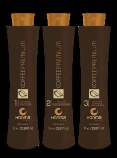 Honma Tokyo - Набор для выпрямления всех типов волос «Coffee Premium All Liss» Кофе Премиум