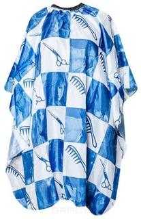 Harizma - Пеньюар c синим рисунком на крючках h10860