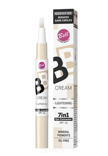 Bell - Корректор светоотражающий Bb Cream Lightenning, (2 тона)