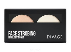 Divage - Палетка Face Strobing, 4 гр