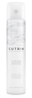 Cutrin - Лак сильной фиксации без отдушки Vieno Sensitive Hairspray Strong, 300 мл
