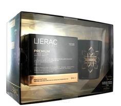 Lierac - Набор (Крем бархатистый облегченная текстура 50 мл и фирменная ароматическая свеча 170 гр.)