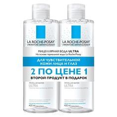 La Roche Posay - Набор Мицеллярная вода Physiologique Ultra, 400 мл (1+1)
