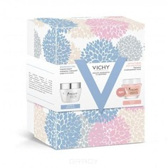 Vichy - Набор крем против морщин и для упругости для нормальной и комбинированной кожи + маска - пилинг Liftactiv Supreme, 50 + 75 мл (- 50%)
