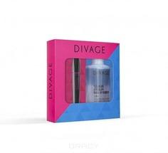 Divage - Набор подарочный № 63 ( тушь для ресниц 90х60х90 Longlashes № 7501 + средство для снятия макияжа с глаз и губ 2в1), 10 + 130 мл