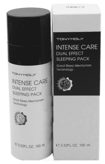 Tony Moly - Ночная отбеливающая маска для лица Intense Care Dual Effect Sleeping Pack, 100 мл