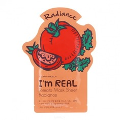 Tony Moly - Тканевая маска для лица с экстрактом томатов I'm Real Tomato Mask Sheet Radiance, 21 мл