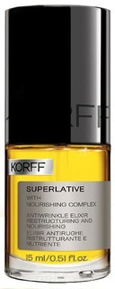 Korff - Эликсир против морщин Superlative Antiwrinkle Restructuring Nourishing Elixir, 15 мл