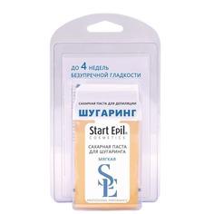 """Start Epil - Набор для шугаринга: сахарная паста в картридже """"Мягкая"""" 100 г + полоски для депиляции"""