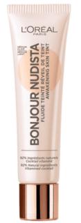 L'Oreal - Тональный BB-флюид для лица Bonjour Nudista, оттенок 02, Светло-бежевый, 30 мл