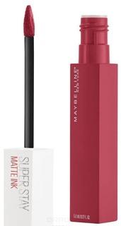 Maybelline - Жидкая матовая губная помада Super Stay Matte Ink (8 оттенков), 5 мл