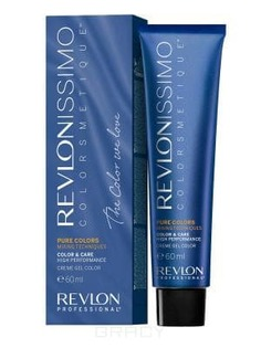 Revlon - Краска для волос Revlonissimo Colorcosmetique Pure Colors, 60 мл (6 оттенков)