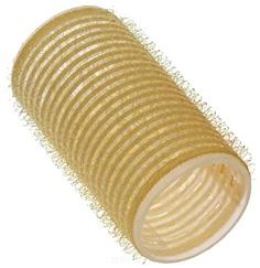 Sibel - Бигуди на липучке 32 мм желтые, 12 шт./уп.