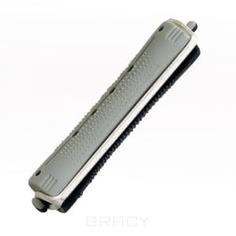 Sibel - Бигуди для химической завивки серо-черные длинные 80 мм (диаметр 16 мм), 12 шт./уп.