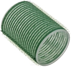 Sibel - Бигуди на липучке 48 мм зеленые, 6 шт./уп.