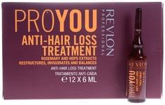 Revlon - Средство против выпадения волос Pro You Anti-Hair Loss Treatment, 12 х 6 мл