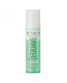 Revlon - Несмываемый 2-х фазный кондиционер для тонких волос Instant Beauty Voiumizing Equave, 200 мл