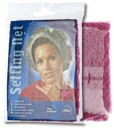 Sibel - Сеточка-косынка на бигуди крупная, розовая