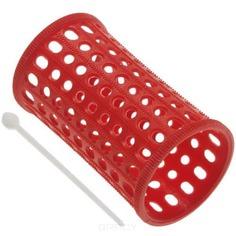Sibel - Бигуди пластиковые 40 мм красные, 10 шт./уп.