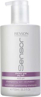 Revlon - Шамунь-кондиционер для объема для волос склонных к жирности Sensor Volumizer Conditioning-Shampoo, 750 мл