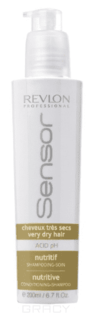 Revlon - Питательный шампунь-кондиционер для очень сухих волос Sensor Nutritive Shampoo, 200 мл