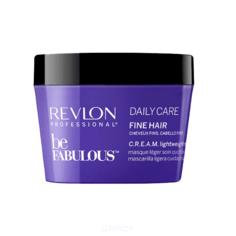 Revlon - Очищающая маска для тонких волос Be Fabulous Daily Care Fine Hair Lightweight Mask, 200 мл