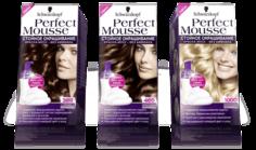 Schwarzkopf Professional - Краска для волос Perfect Mousse, 35 мл (24 оттенка)
