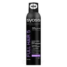 Syoss - Мусс для волос Экстрасильная фиксация Full Hair 5D, 250 мл