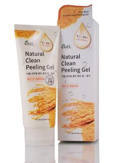 Ekel - Пилинг-скатка с экстрактом коричневого риса Rice Bran Natural Clean Peeling Gel, 180 мл