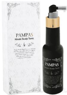 Pampas - Тоник для кожи головы с экстрактом кипариса Hinoki Scalp Tonic, 170 мл