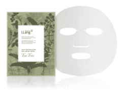 LLang - Тканевая маска с экстрактом масла чайного дерева Organic Cotton Blossom Mask (Tea tree), 22 мл