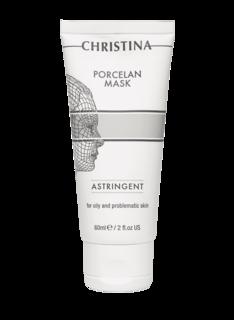 Christina - Поросуживающая фарфоровая маска Porcelain Mask Astringent