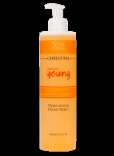 Christina - Увлажняющий гель для умывания Forever Young Moisturizing Facial Wash, 300 мл