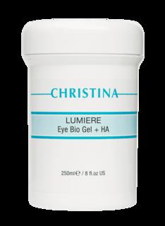 Christina - Био-гель для кожи вокруг глаз с гиалуроновой кислотой Lumiere Eye Bio Gel + HA