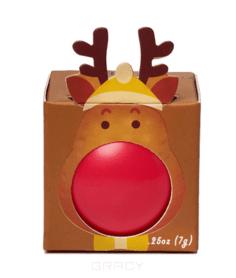 Beauty Bar - Бальзам для губ с ароматом клубники коробочка, 7 мл