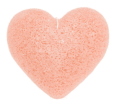 Beauty Bar - Спонж конняку для лица с розовой глиной Konjac Me Pure Konjac Sponge with pink clay