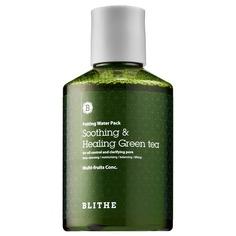 Blithe - Сплэш-маска для восстановления «Смягчающий и заживляющий Зеленый Чай» Patting Splash Mask Soothing & Healing Green Tea, 200 мл