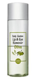 Holika Holika - Средство для снятия макияжа глаз и губ с экстрактом Оливы Daily Garden Olive Lip Eye Remover, 100 мл