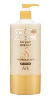 """Flor de Man - Глазурь для укладки волос с протеинами шелка """"МФ Кератин"""" Keratin Silkprotein Hair Glaze, 500 мл"""