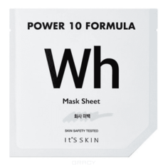 "It's Skin - Тканевая маска ""Пауэр 10 Формула"", выравнивающая тон Power 10 Formula Mask Sheet WH, 25 мл"