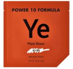 "It's Skin - Тканевая маска ""Пауэр 10 Формула"", эластичность Power 10 Formula Mask Sheet YE, 25 мл"