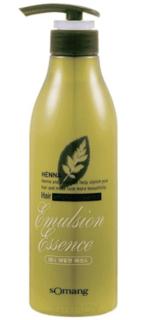 """Flor de Man - Укрепляющая эссенция для укладки волос """"МФ Хэнна"""" Henna Hair emulsion essence, без фиксации, 500 мл"""