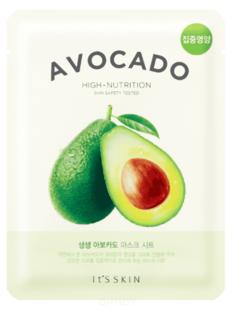 "It's Skin - Смягчающая тканевая маска ""Зе Фреш"", авокадо The Fresh Avocado Mask Sheet, 21 г"