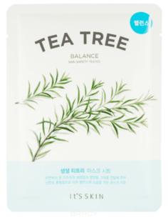 """It's Skin - Анти-акне тканевая маска """"Зе Фреш"""", чайное дерево The Fresh Tea Tree Mask Sheet, 18 г"""